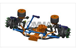 上海科曼6.5T级独立悬架系统