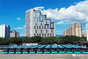 云南大理:大理公交加快更换新能源公交步伐