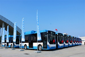 211辆中通客车出口亚美尼亚 深耕海外市场再树标志性里程碑
