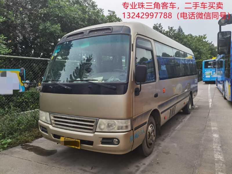 特价出一台广州牌2013年3月23座非营运江铃中巴