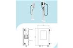 千航充电7KW钣金壁挂交流充电桩