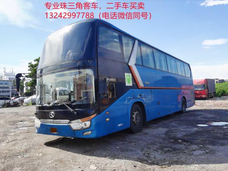 2014年9月 55座气囊中门有暖气洗手间大金龙6129型客车