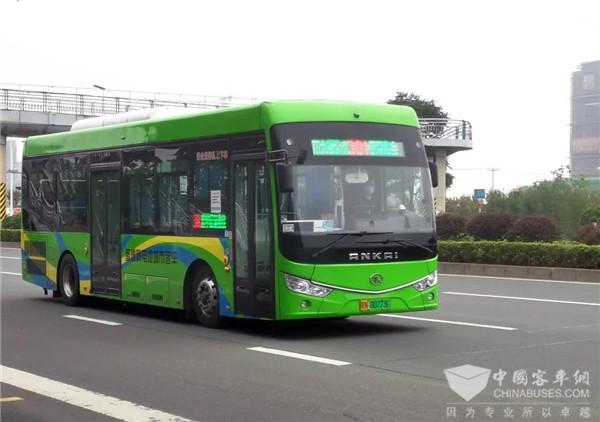 单车运营里程超10万公里! 安凯氢燃料电池客车是如何做到的?