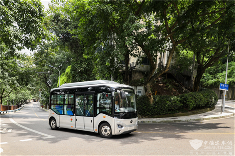 宇通E6S社区出行微巴开启全国巡展