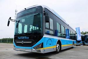 服务冬奥,中通氢燃料客车高标准通过整车低温试验