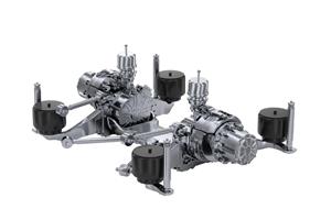 盘毂动力PDS300KWA电驱动产品