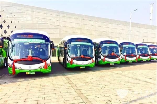 银隆海豚公交车入驻烟台 打造百姓满意的幸福公交