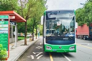 """温州首条""""地铁巴士""""上线 绿色新科技备战亚运"""