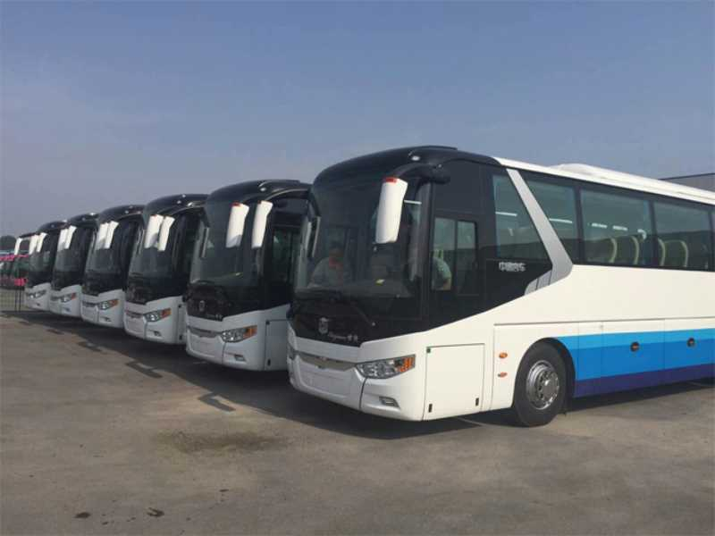 北京旅游巴士出租7--55坐企业单位团体学校工地租车服务