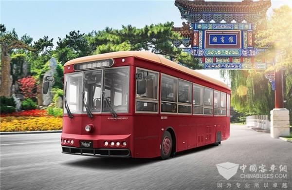 公交客车+传统文化=? 这家客车企业告诉你答案