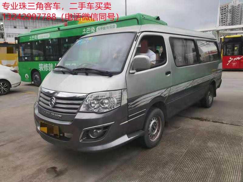 2016年4月 14座汽油非营运广州牌中型金龙客车
