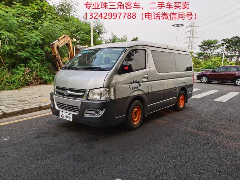 2011年7月 12座非营运汽油九龙客车车况保养非常好