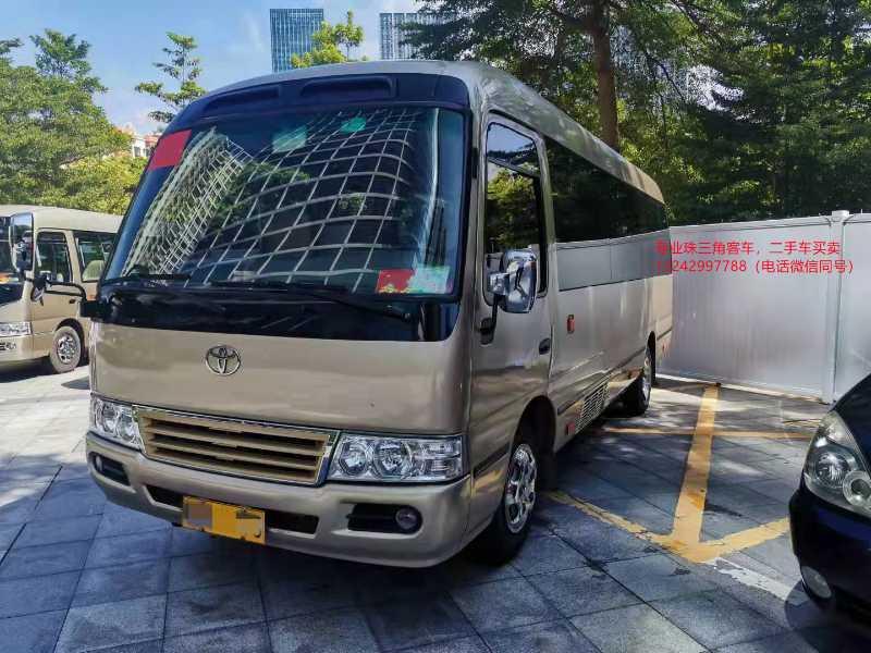 2015年10月 23座非营运江铃晶马考斯特中巴车型