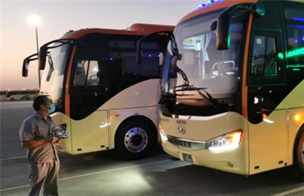 """添彩""""中国制造""""!近200台海格客车圆满服务卡塔尔顶级足球赛"""