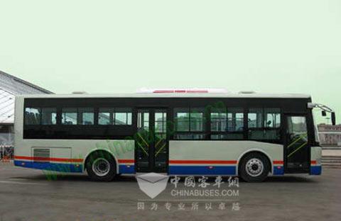 1965年天津公共汽车-公交车 金马 客车