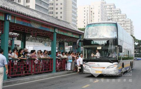 亚星YBL6141型双层客车