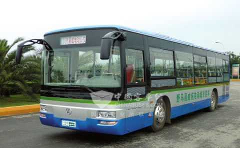 野马电动公交车