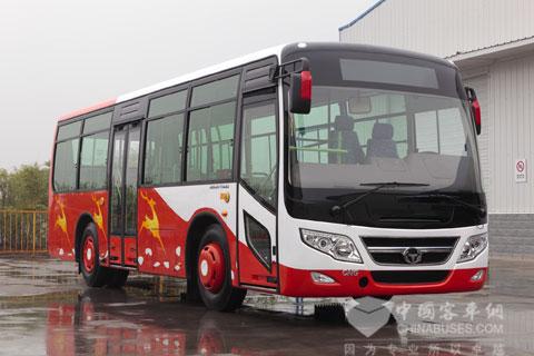 参与征名的恒通CKZ6755公交客车