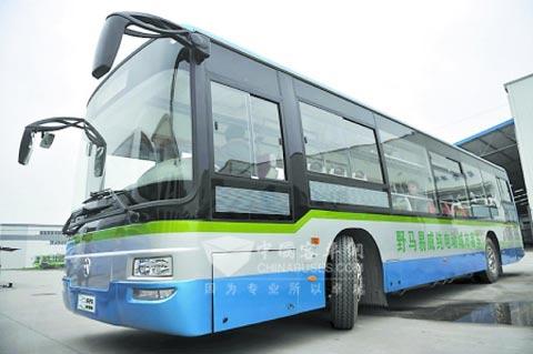 野马SQJ6111B1CH纯电动城市客车