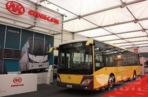 安凯G03EV新能源客车第一次亮相欧洲车展