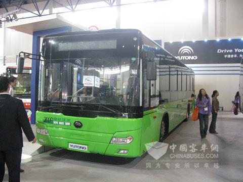 宇通ZK6126HGZ1混合动力公交车