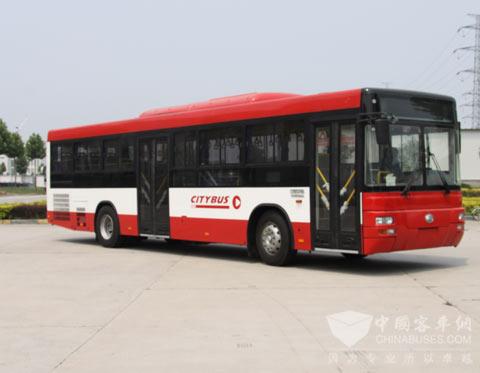 175辆宇通ZK6118HGA第一次批量进入海湾地区公交市场