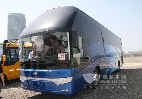 宇通ZK6122H912网络版智能客车