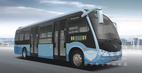 黄海客车携四款新车亮相北京交通展