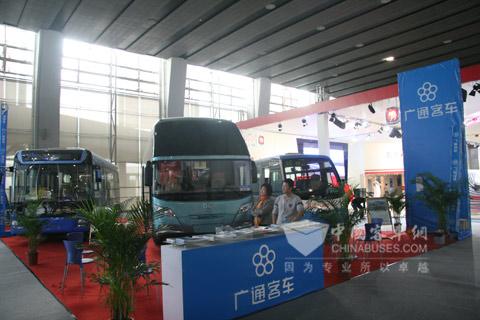 珠海广通客车亮相广州车展
