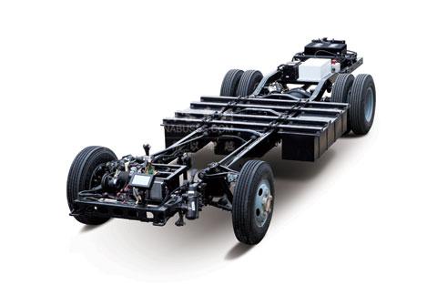 hfc6688ev宝斯通纯电动车底盘