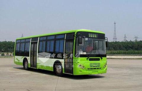 东风扬子江获太原281辆公交车订单