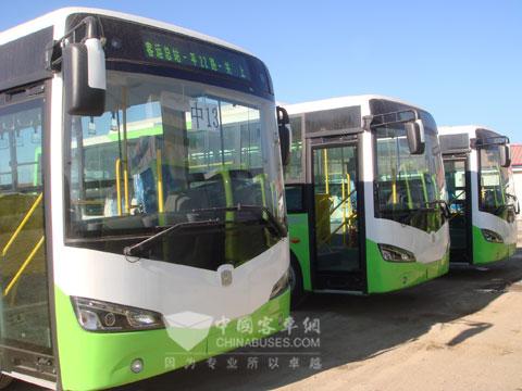 江淮国Ⅳ客车底盘批量进入市场高清图片
