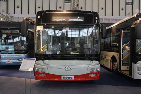 蜀都CDK6122CS1R型城市客车
