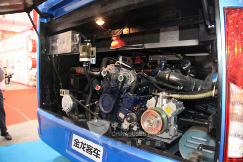 大金龙三马车变速箱结构图片