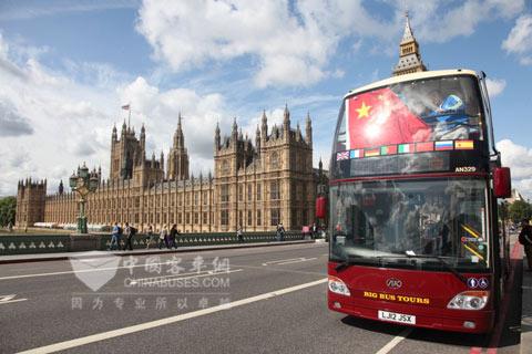 英国街头复古风景图片