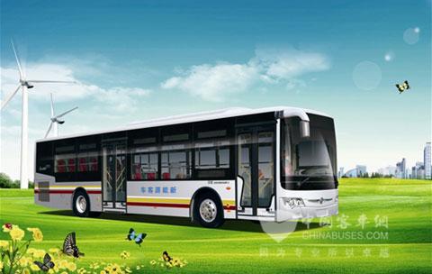 亚星混合动力优势凸显   亚星混合动力客车主销车型搭配的高清图片