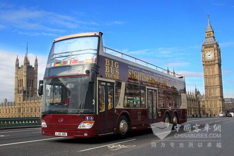 安凯客车服务伦敦奥运会