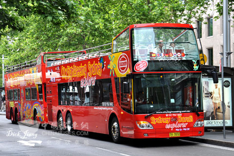 安凯双层巴士在澳大利亚