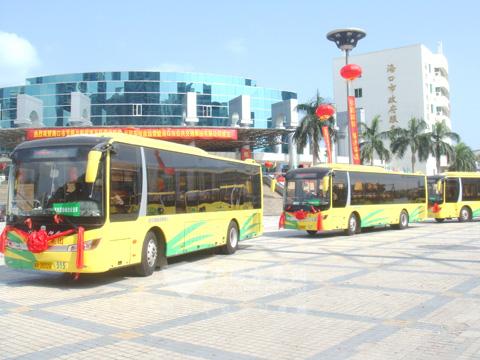 2011年交付海南的新能源客车