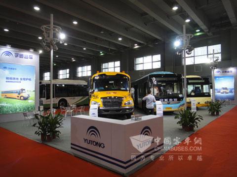 宇通客车亮相2013广州交通博览会