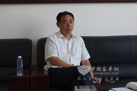 菏泽公共汽车公司总经理王雁民讲述菏泽公交新能源客车发展之道