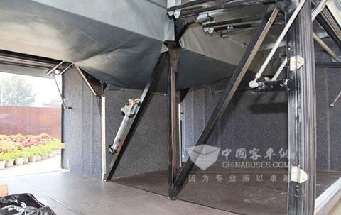 行李舱容积为6.5 m3