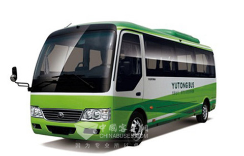 宇通纯电动客车目前完成了6~14米全系列产品布局