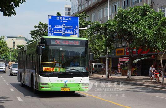 金旅插电式混合动力为城市公共交通添砖加瓦.