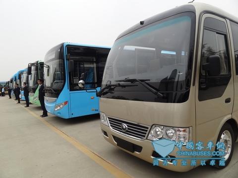 宇通新能源客车已经形成完整的产品系列