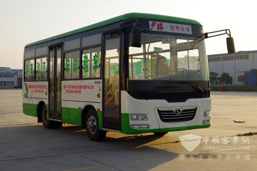 少林7米电动公交创续驶里程奇迹