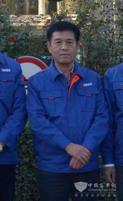 董事长李树朋讲话