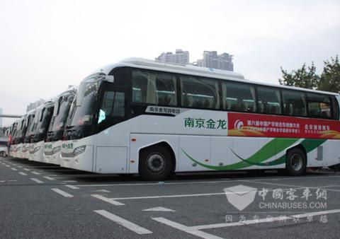 南京金龙纯电动客车njl6118bev就作为本次中国产学研