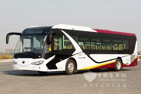 宇通定制公交北京正式运营图片