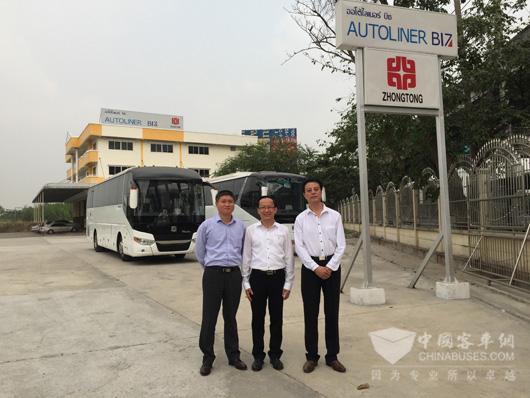 中通客车成功赢得泰国豪华旅游车项目